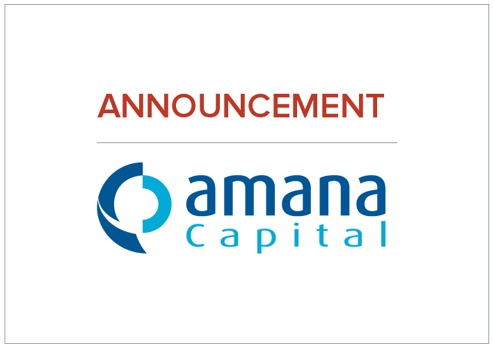 https://www.amanacapital.com/Amana Capital Announces Phase Two of its Expansion Plan